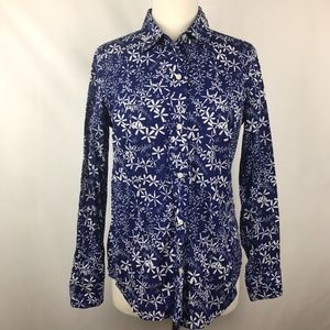 Vineyard Vines Floral Oars Button Up Shirt